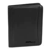 Millennium Black Leather Writing Pad-Stacked BMX Canada Engraved