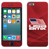 iPhone 5/5s Skin-Flag on Stacked USA BMX