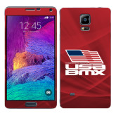 Galaxy Note 4 Skin-Flag on Stacked USA BMX