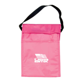 Koozie Pink Lunch Sack-Flag on Stacked USA BMX