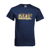 Navy T Shirt-USA BMX 5 Riders