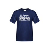 Youth Navy T Shirt-We R Family