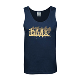 Navy Tank Top-USA BMX 5 Riders