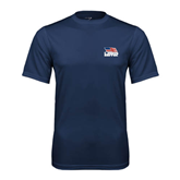 Syntrel Performance Navy Tee-Flag on Stacked USA BMX