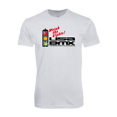 Next Level SoftStyle White T Shirt-Watch the Lights!