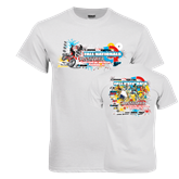 White T Shirt-Oct 25-27 2013 Disney Cup Fall Nationals
