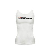 Ladies White Cami-BMX Canada w/Riders