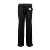 ENZA Ladies Black Fleece Pant-Riders on Stacked USA BMX