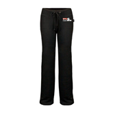 ENZA Ladies Black Fleece Pant-Stacked BMX Canada w/Riders