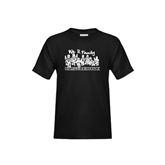 Youth Black T Shirt-We R Family