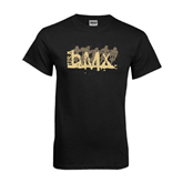 Black T Shirt-USA BMX 5 Riders