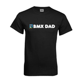 Black T Shirt-BMX Dad