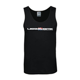 Black Tank Top-USA BMX w/Riders Between