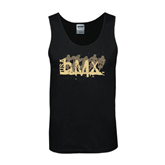 Black Tank Top-USA BMX 5 Riders
