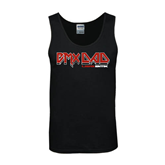 Black Tank Top-USA BMX Rocker Dad Solid