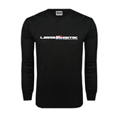 Black Long Sleeve TShirt-USA BMX w/Riders Between