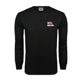Black Long Sleeve TShirt-Riders on Stacked BMX Canada