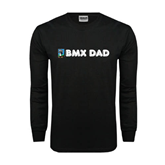 Black Long Sleeve TShirt-BMX Dad