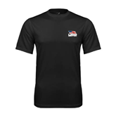 Syntrel Performance Black Tee-Flag on Stacked USA BMX