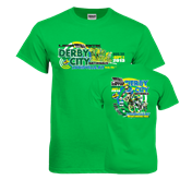 Kelly Green T Shirt-Aug 30-Sept 1 2013 Derby City Nationals