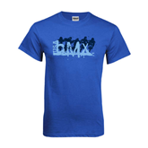 Royal Blue T Shirt-Royal USA BMX 5 Riders