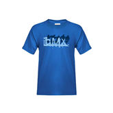Youth Royal Blue T Shirt-Royal USA BMX 5 Riders