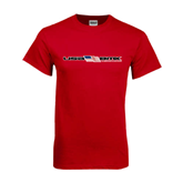 Red T Shirt-USA BMX w/Flag In Between