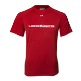 Under Armour Red Tech Tee-USA BMX w/Riders Between