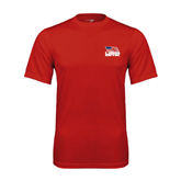 Syntrel Performance Red Tee-Flag on Stacked USA BMX