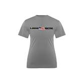 Youth Syntrel Performance Steel Training Tee-USA BMX w/Flag In Between