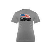Youth Syntrel Performance Steel Training Tee-Flag on Stacked USA BMX