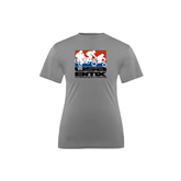 Youth Syntrel Performance Steel Training Tee-Riders on Stacked USA BMX