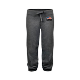 ENZA Ladies Dark Heather Banded Fleece Capri-Flag on Stacked USA BMX