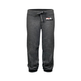 ENZA Ladies Dark Heather Banded Fleece Capri-Stacked BMX Canada w/Riders