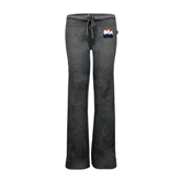 ENZA Ladies Dark Heather Fleece Pant-Riders on Stacked USA BMX