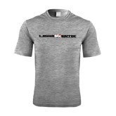 Performance Grey Heather Contender Tee-USA BMX w/Riders Between