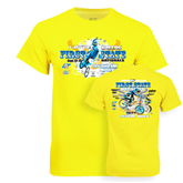 Neon Yellow T Shirt-Sept 13-15 2013 First State Nationals