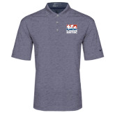 Nike Golf Dri Fit Navy Heather Polo-Riders on Stacked USA BMX