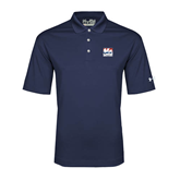 Under Armour Navy Performance Polo-Riders on Stacked USA BMX