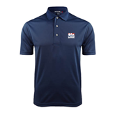 Navy Dry Mesh Polo-Riders on Stacked USA BMX