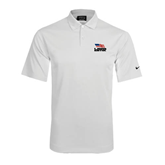Nike Dri Fit White Pebble Texture Sport Shirt-Flag on Stacked USA BMX