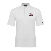 Nike Sphere Dry White Diamond Polo-Flag on Stacked USA BMX