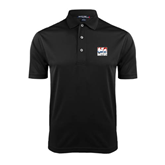 Black Dry Mesh Polo-Riders on Stacked USA BMX