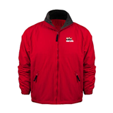 Red Survivor Jacket-Riders on Stacked BMX Canada