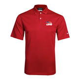 Nike Dri Fit Red Pebble Texture Sport Shirt-Flag on Stacked USA BMX