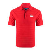Red Horizontal Textured Polo-Flag on Stacked USA BMX
