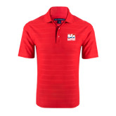 Red Horizontal Textured Polo-Riders on Stacked USA BMX