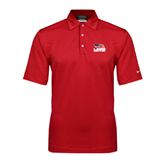 Nike Sphere Dry Red Diamond Polo-Flag on Stacked USA BMX