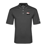 Nike Golf Dri Fit Charcoal Micro Pique Polo-Riders on Stacked BMX Canada
