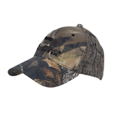 Mossy Oak Camo Structured Cap-Flag on Stacked USA BMX